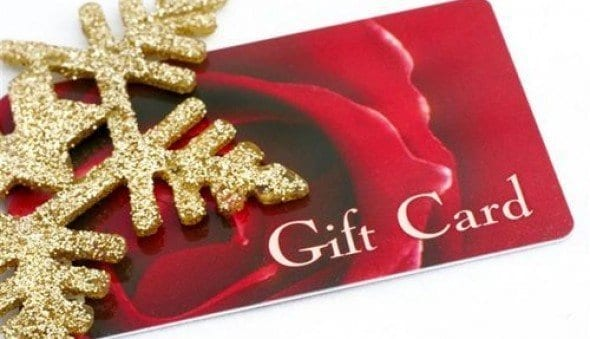 gift card 2014