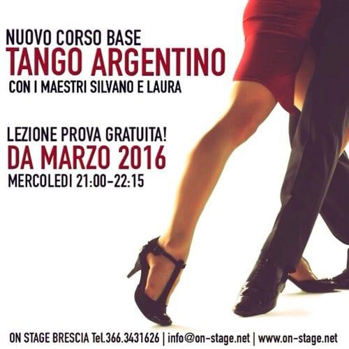 Nuovo Corso Tango Argentino – dal 9 Marzo