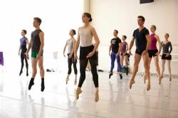 ballet class classe di danza